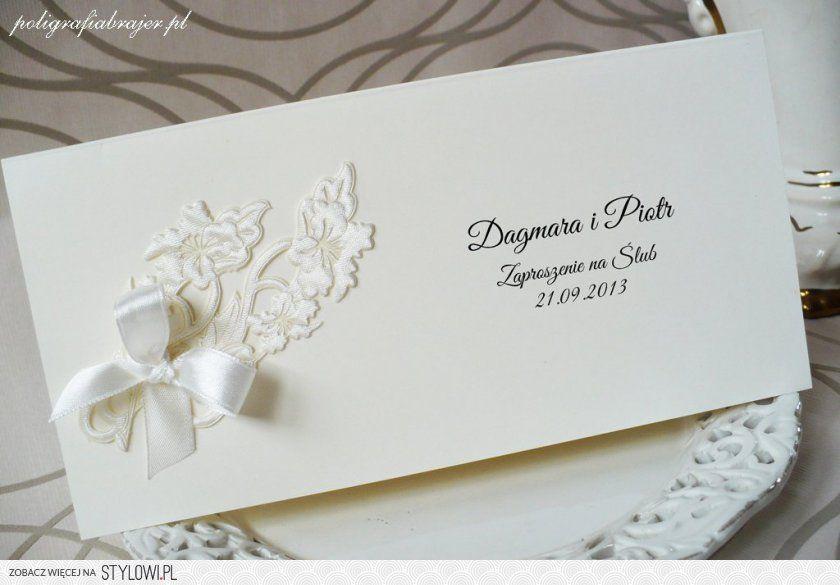 Zaproszenia ślubne Zawiadomienia Httpswwwfacebook Na Stylowi