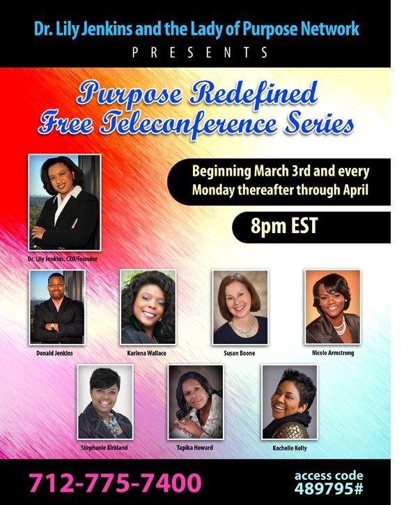 Invitation: Purpose Redefined [Lady of Purpose Network]