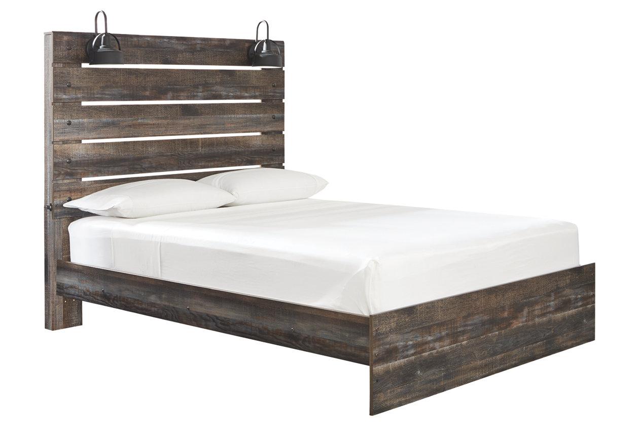Drystan Queen Panel Bed (With images)   Queen panel beds ...