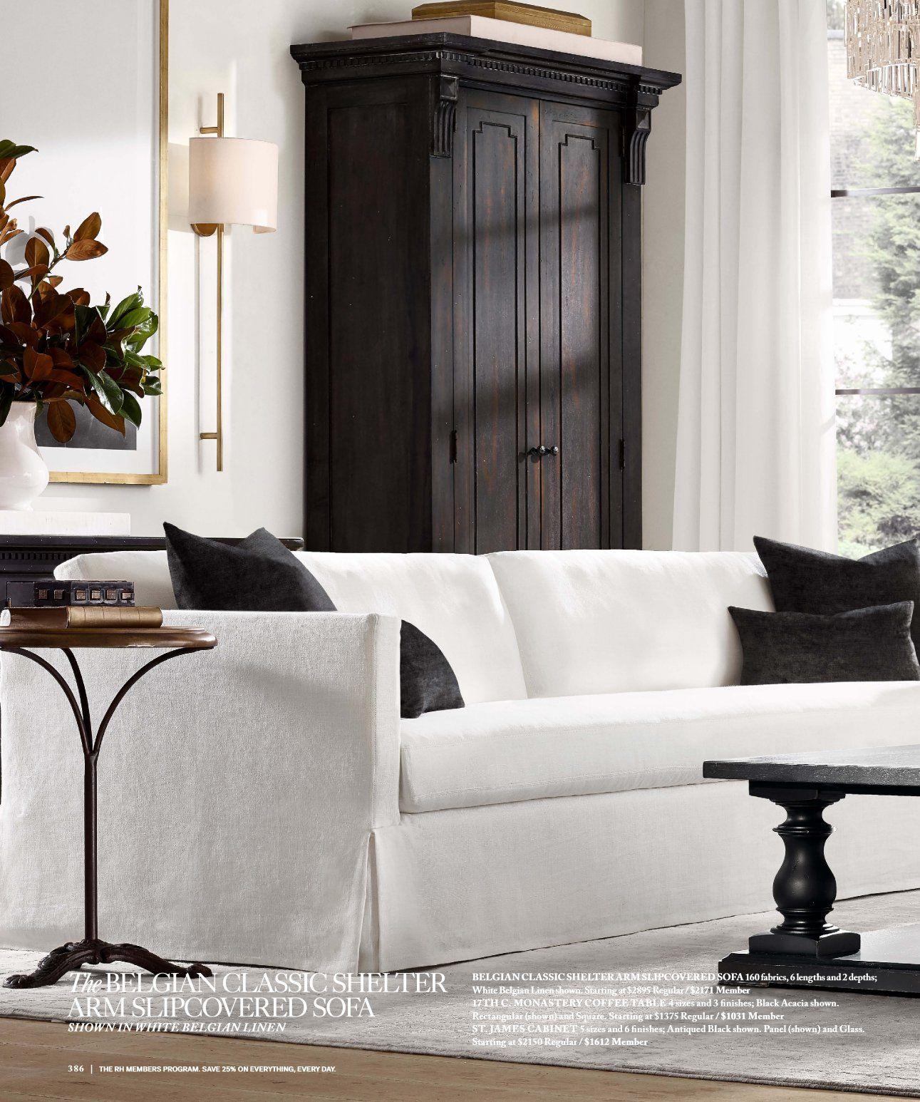 Rh Source Books Rh Interiors 386 Home Living Room Living Room