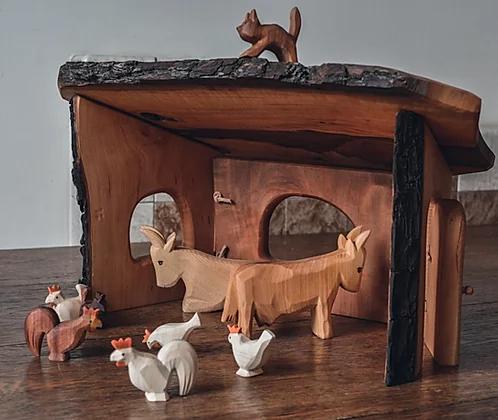 The Barn Predan Wooden Toys Zuri And Jane In 2020 Wooden Toys Uk Toys Uk Waldorf Inspired Toys