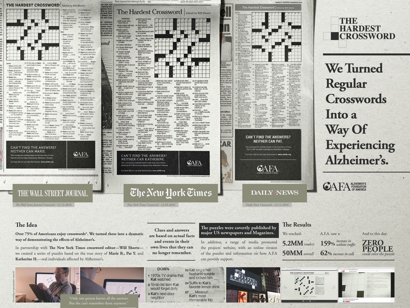 alzheimer s foundation of america a f a the hardest on wall street journal crossword id=70353
