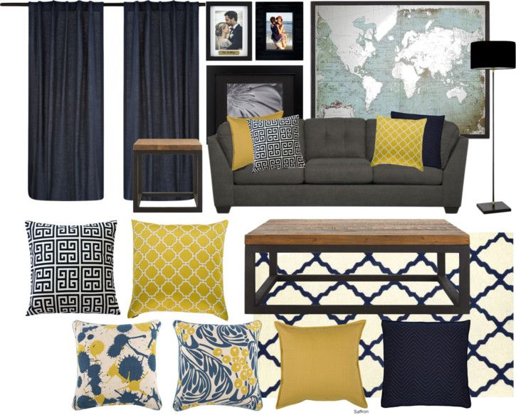 Living Room Color Scheme Navy Yellow Black Living Room Gold