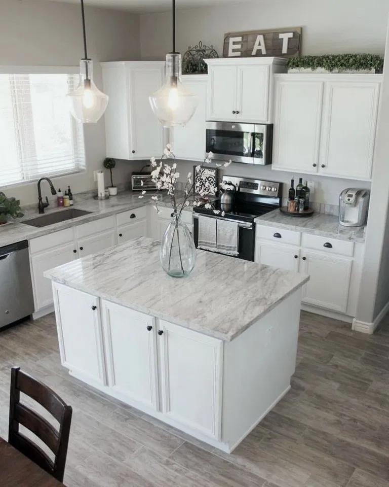 25 Absolutely Gorgeous Transitional Style Kitchen Ideas: 25+ Beautiful Kitchen Backsplah Tile Ideas 00021