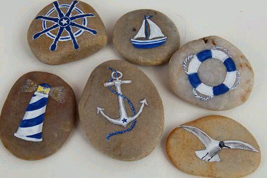 denizci #bemaltekieselsteine