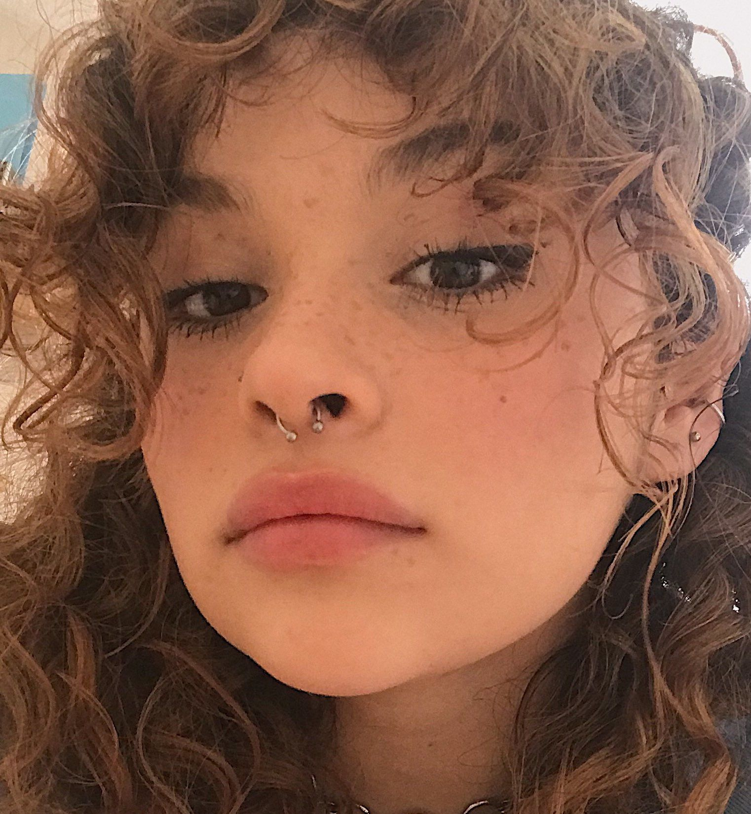 #septum piercing #𝙢𝙞𝙡𝙠𝙩𝙚𝙖 #𝙘𝙝𝙧𝙞𝙨𝙩𝙞𝙣𝙚 Shape striking is if a hook is defined as a result of area of the system and a distant object is definitely injected when jewellery. Eventually, your sensitive skin about the diamond cures plus a hole is left. The hole could be the piercing. It is completely safe and sound while performed by professionals who tend to be careful.    DO NOT pierce your individual abdomen button. The particular piercing is r...