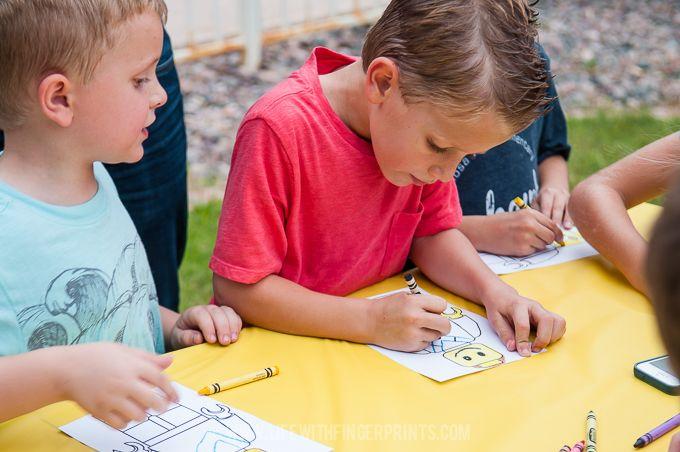 Life with Fingerprints: Lego Birthday Party, Lego Invite, Lego Treats