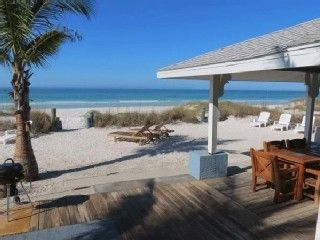 Turtle Beach- Direct Beach Front Ground Level, Private Heated PoolVacation Rental in Bradenton Beach from @HomeAway! #vacation #rental #travel #homeaway
