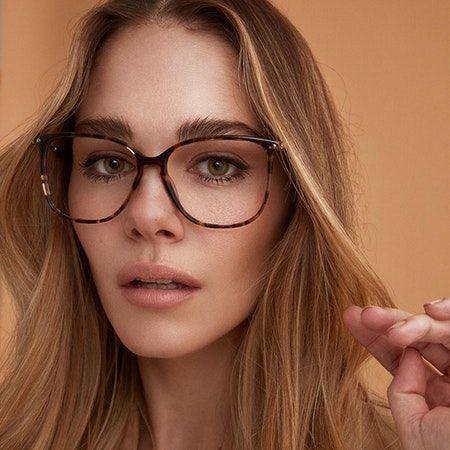 Photo of Women's Eyeglasses – Sonia in Dark Terra | BonLook