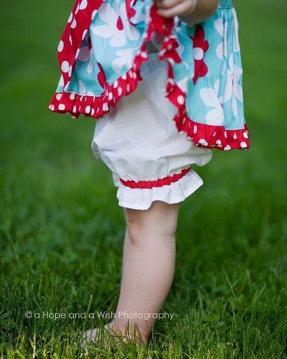 Girls Bloomers Pattern - DIY Pantaloons PDF Sewing Pattern