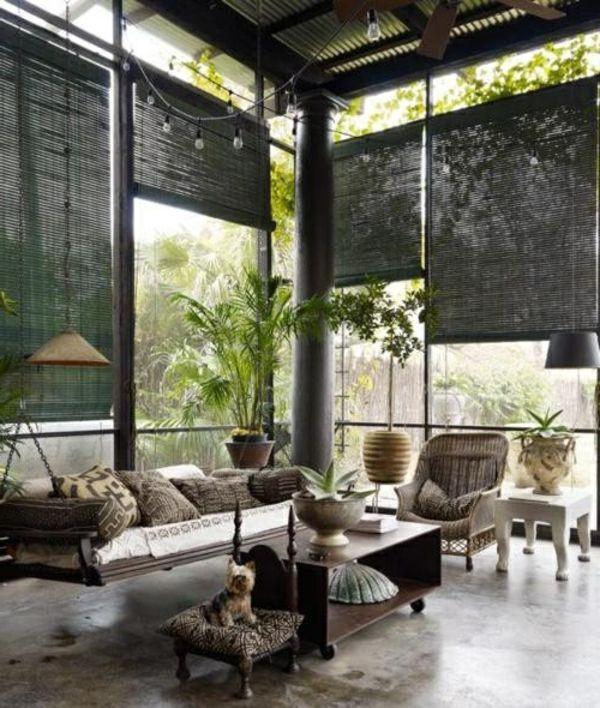 Bambusrollo - praktische Tipps und Wissenswertes Mi casa - wohnzimmer grose fensterfront