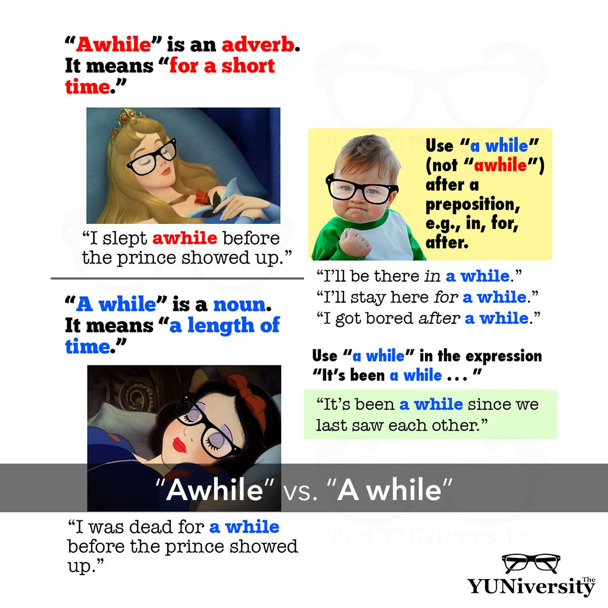 Don T Be Confused About A While And Awhile Grammar