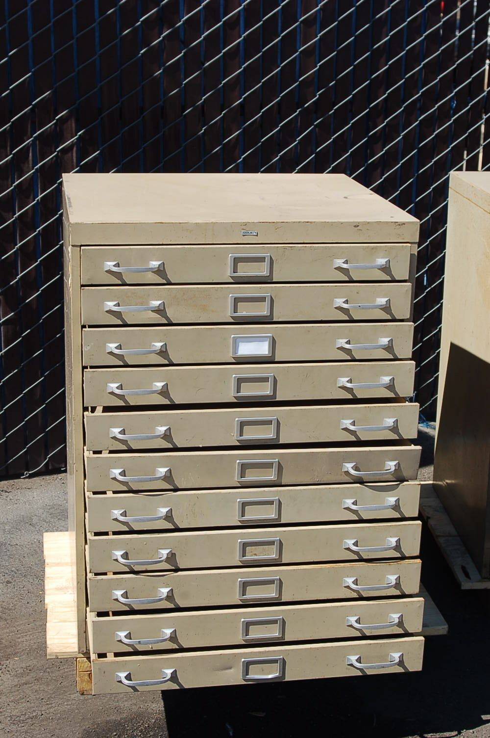 COM: FIVE DRAWER BLUEPRINT FILING CABINET   Browse All File Cabinets And  File
