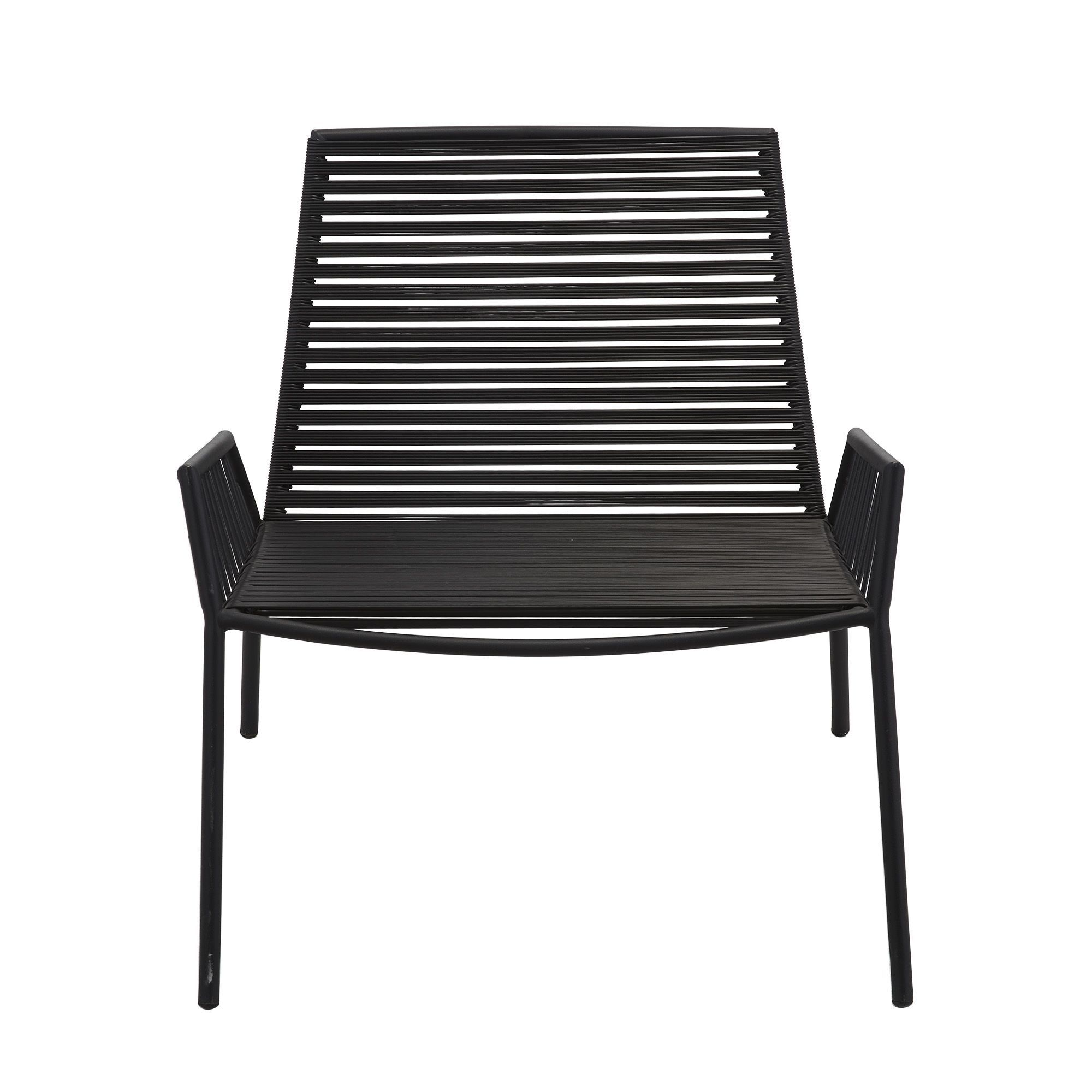 uac alinea fauteuil de jardin empilable noir romain fauteuils de jardin salon with fauteuil huevo. Black Bedroom Furniture Sets. Home Design Ideas