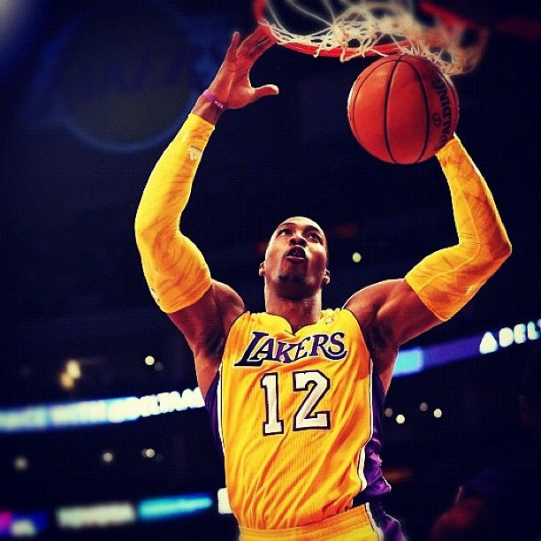 Dwight Howard La Lakers The Big Fella Needs To Lead Us To The Playoffs Tonight Dwight Howard Basketball Is Life Ufc