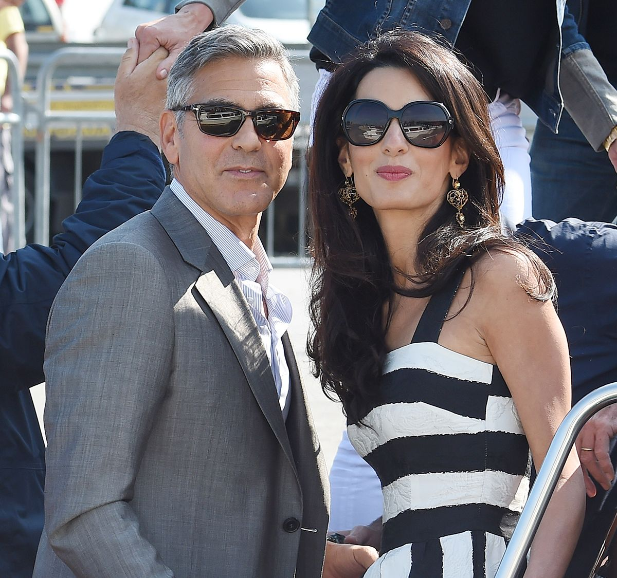 George And Amal's Wedding Menu, Personal Gift To Guests