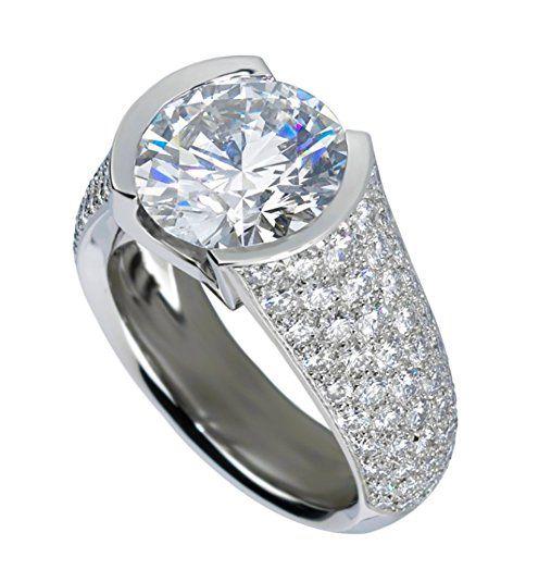 Enhanced Diamond Vs 4 63ct Majestic Cvd Coated Diamond Engagement Ring 14k White Gold Luxury Engagement Rings Engagement Rings Harry Winston Engagement Rings