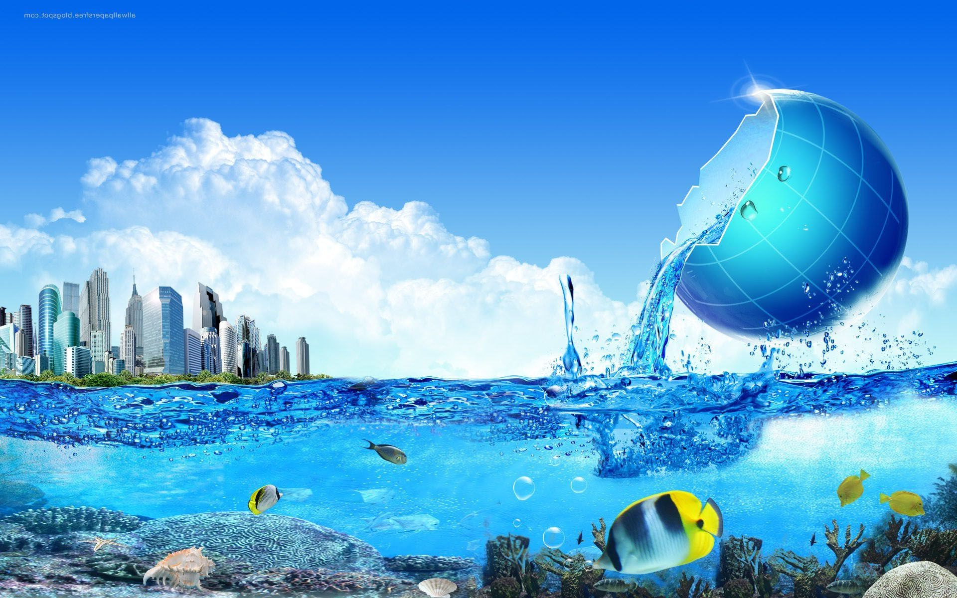 Nature Water Sea Hd 3d Wallpapers Photography Wallpaper Wallpaper Backgrounds Wallpaper