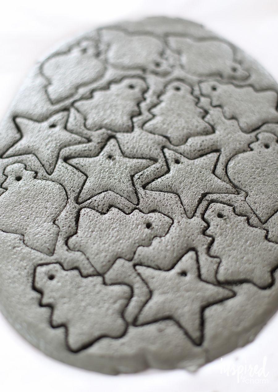 DIY Concrete Ornaments