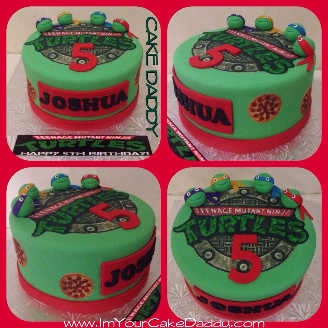 Teenage Mutant Ninja Turtles birthday cake Custom Cakes by Cake