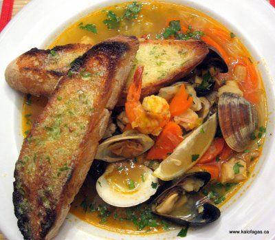 Kakavia greek fish soup food drinks pinterest for Greek fish recipes