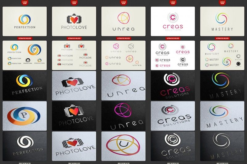 Logo Templates Mega Bundle — Discounted