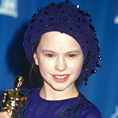 Anna Paquin - The Piano 1993. Premio Oscar a la mejor actriz secundaria.
