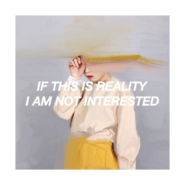 Is it? via Tumblr We Heart It ❤ liked on Polyvore featuring pictures, words, text, fillers, backgrounds, phrase, quotes and saying