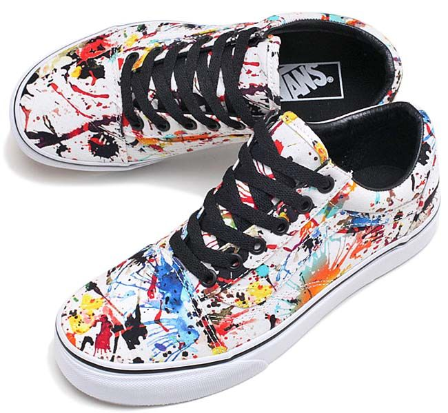 640f8f36a23b VANS OLD SKOOL PAINT SPLATTER [MATCH COLOR / WHITE] VN0A31Z9M0U ...