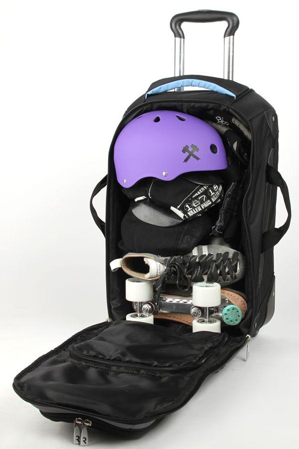 radar gear bag radar wheels roller skating roller derby. Black Bedroom Furniture Sets. Home Design Ideas