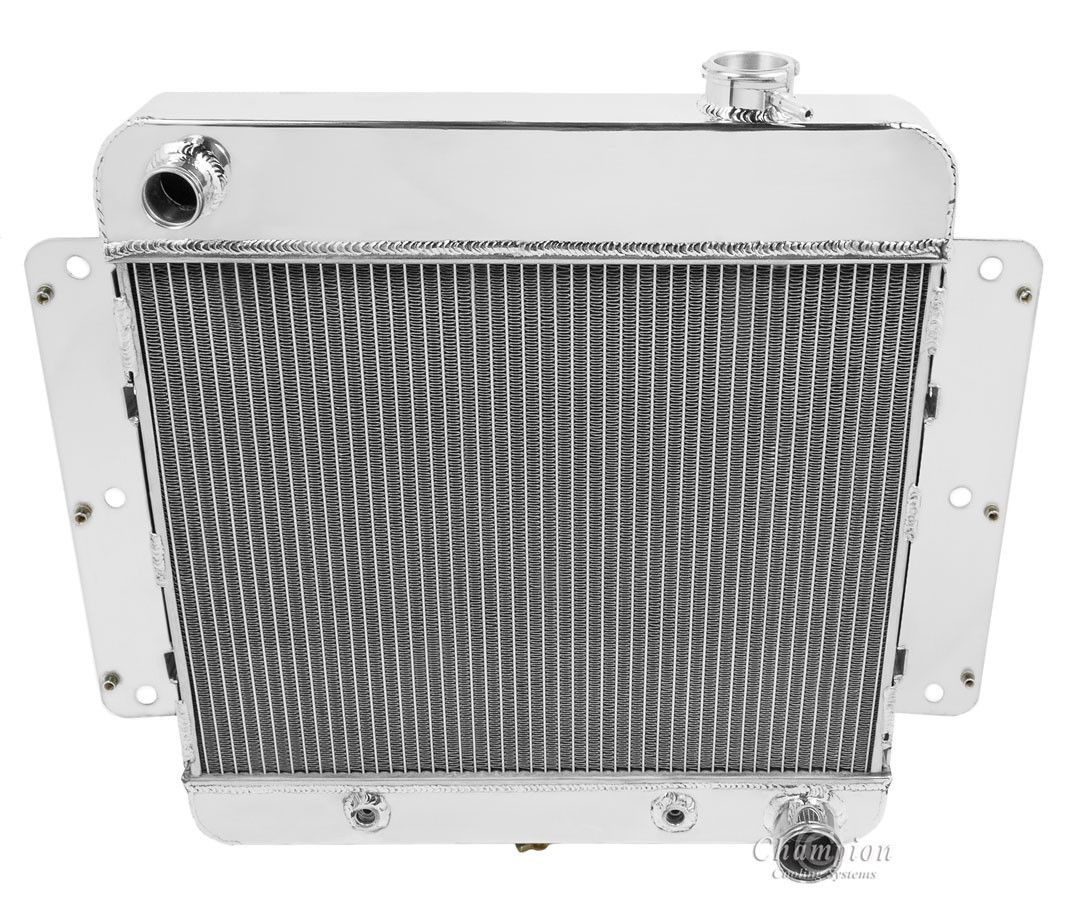 Champion Cooling Three Row All Aluminum Radiator For 1962 1967
