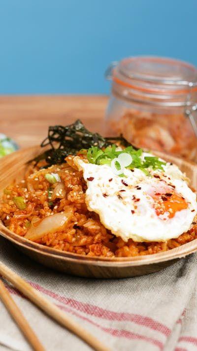 Kimchi Fried Rice ~ Recipe