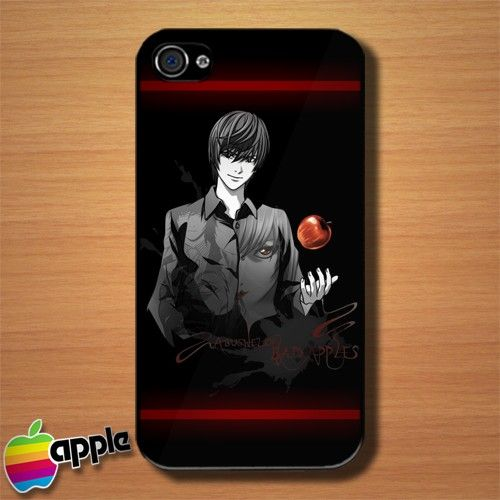 Death Note Ryuk Apple Custom iPhone 4 or 4S Case Cover #iphone4 #Case #cover #DeathNote