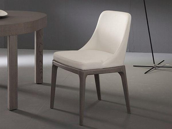 Sedie Riflessi ~ Sedia luna riflessi con piedi in cromo o rivestiti sedie moderne