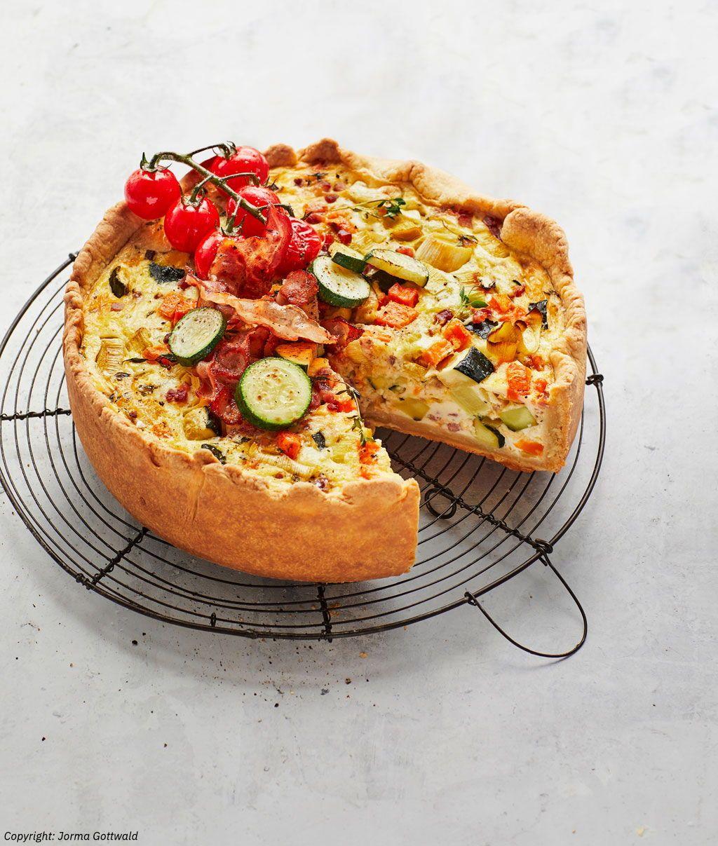 Gemüse - Speck - Tarte von sramaravilla | Chefkoch
