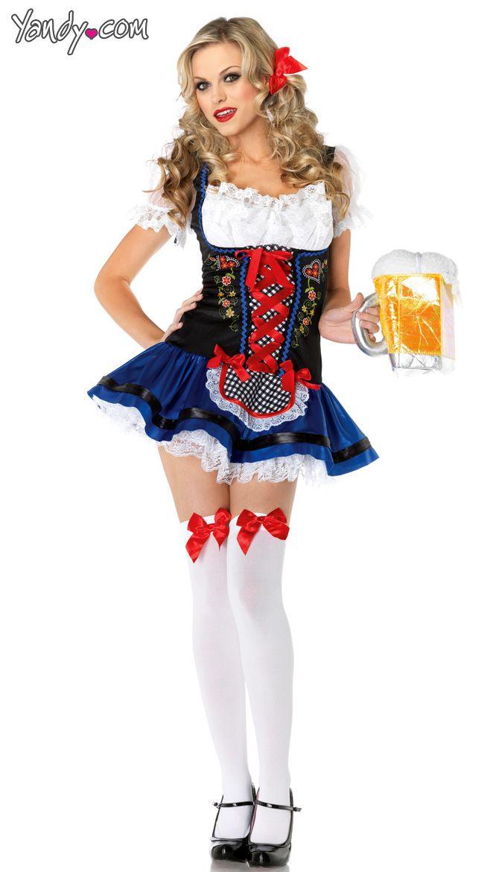 Amazon.com: Frisky Frauline Adult Costume - Plus Size 1X