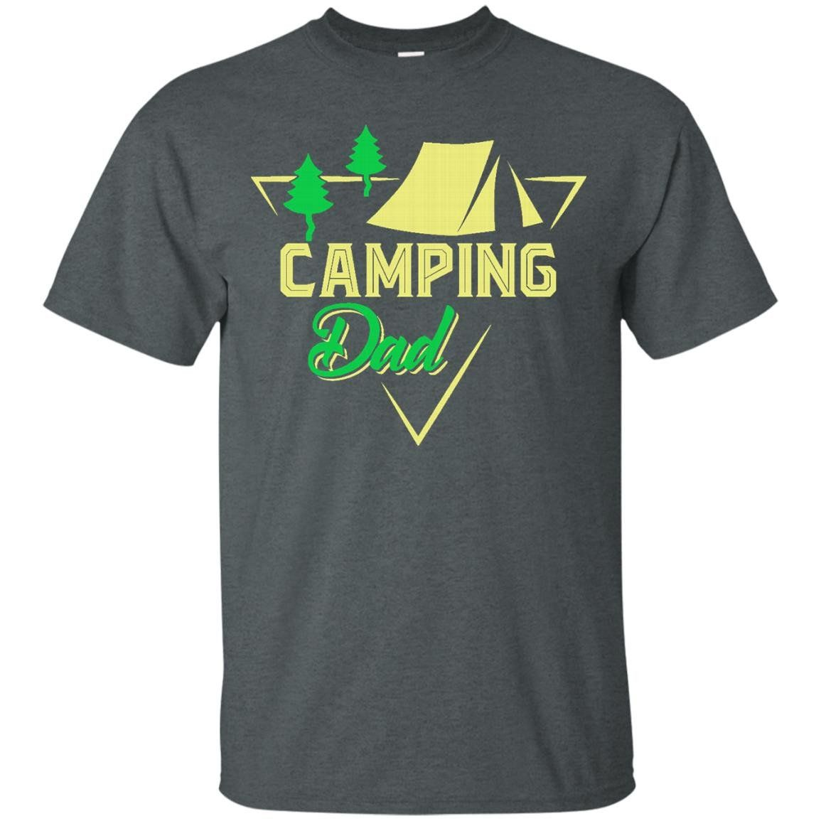 Camping Dad. Funny Hobby T shirt for Daddy