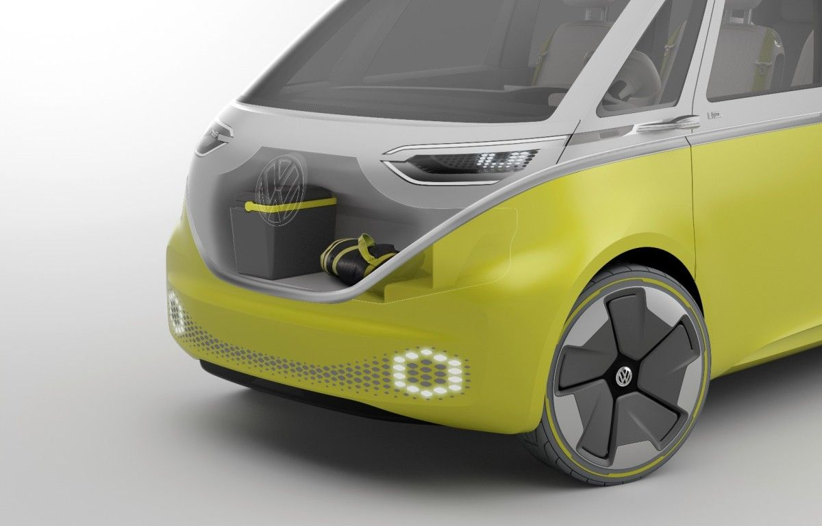 Volkswagen resurrects the Kombi as an AWD, autonomous electric minibus