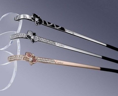 moda caliente buena calidad elegir original Caresse d'orchidées par Cartier precious eyewear ...