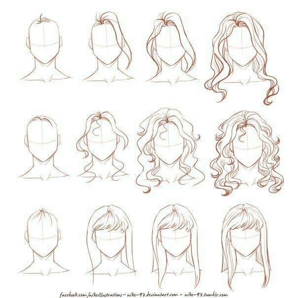 Epingle Par Maureen Sur Dessin Cheveux Dessin Dessin Coiffure Dessin De Cheveux