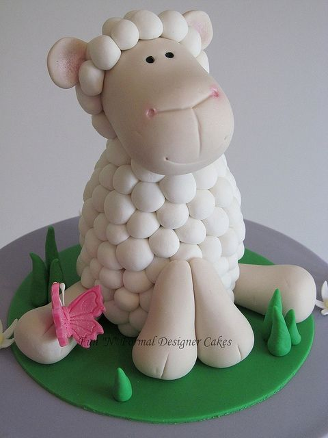 Fondant Sheep Sheep Cake Toppers Flickr Sharing Pictures