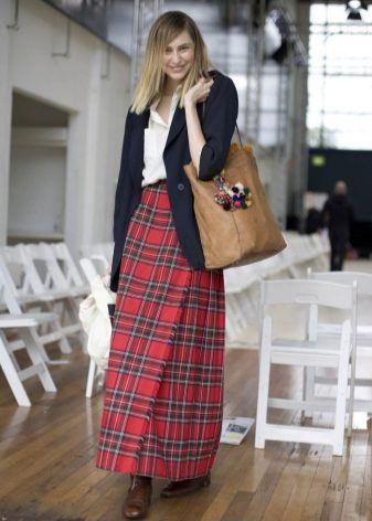 С чем носить юбку в клетку? | Модные стили, Стиль, Наряды ...