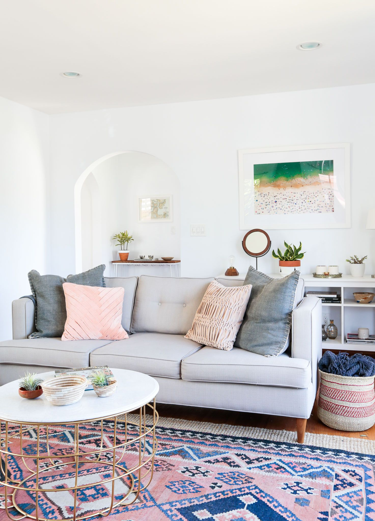Living Room Inspiration | Living rooms, Aztec rug and Room