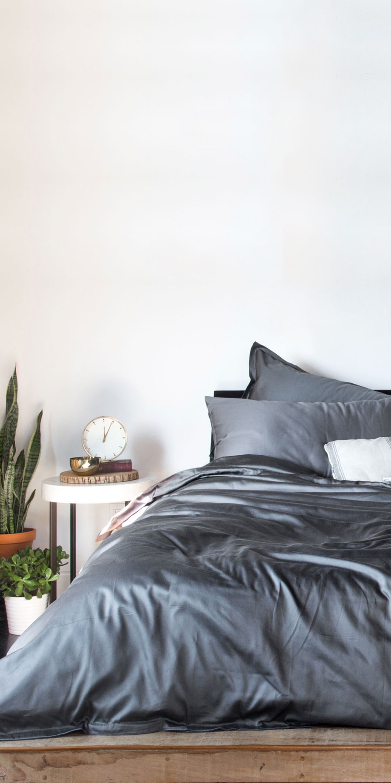 Parachute Sateen Venice Set In Slate Home Bedroom Home Home Decor