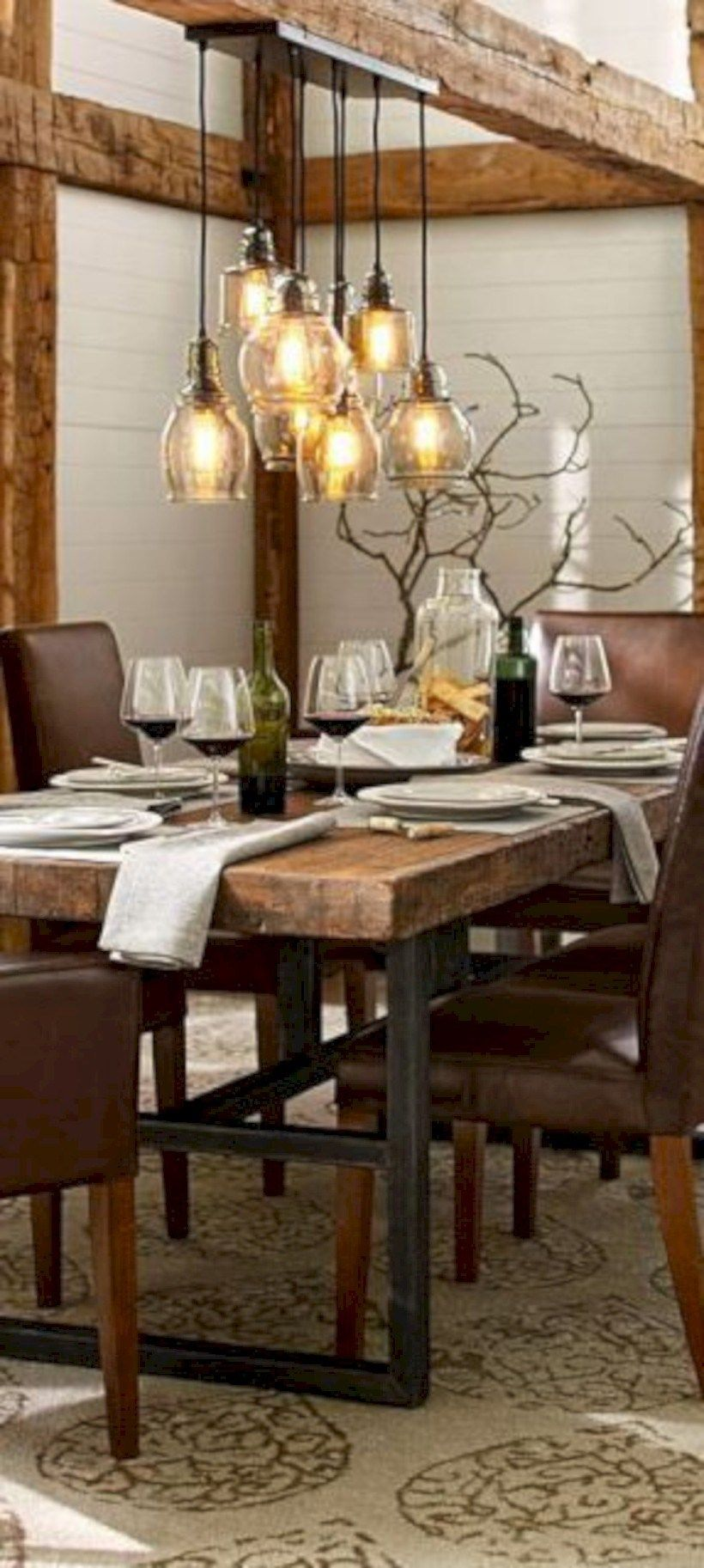 15 Timeless DIY Rustic for your Farmhouse Decor Dining