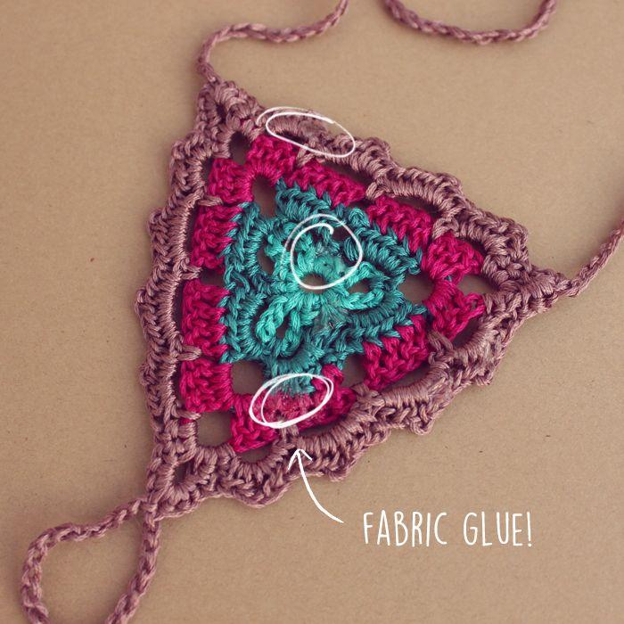 How To Make Crochet Barefoot Sandals Last Longer   Gleeful Things ...