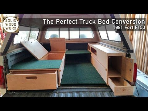 The Perfect Camping Setup For The Back Of Your Truck