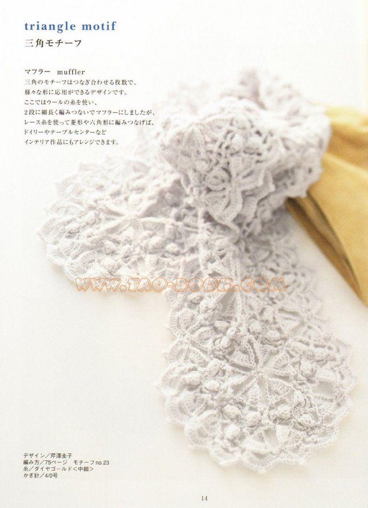 Pin de Carmen Angeles en crochet accessories | Pinterest | Scialle ...