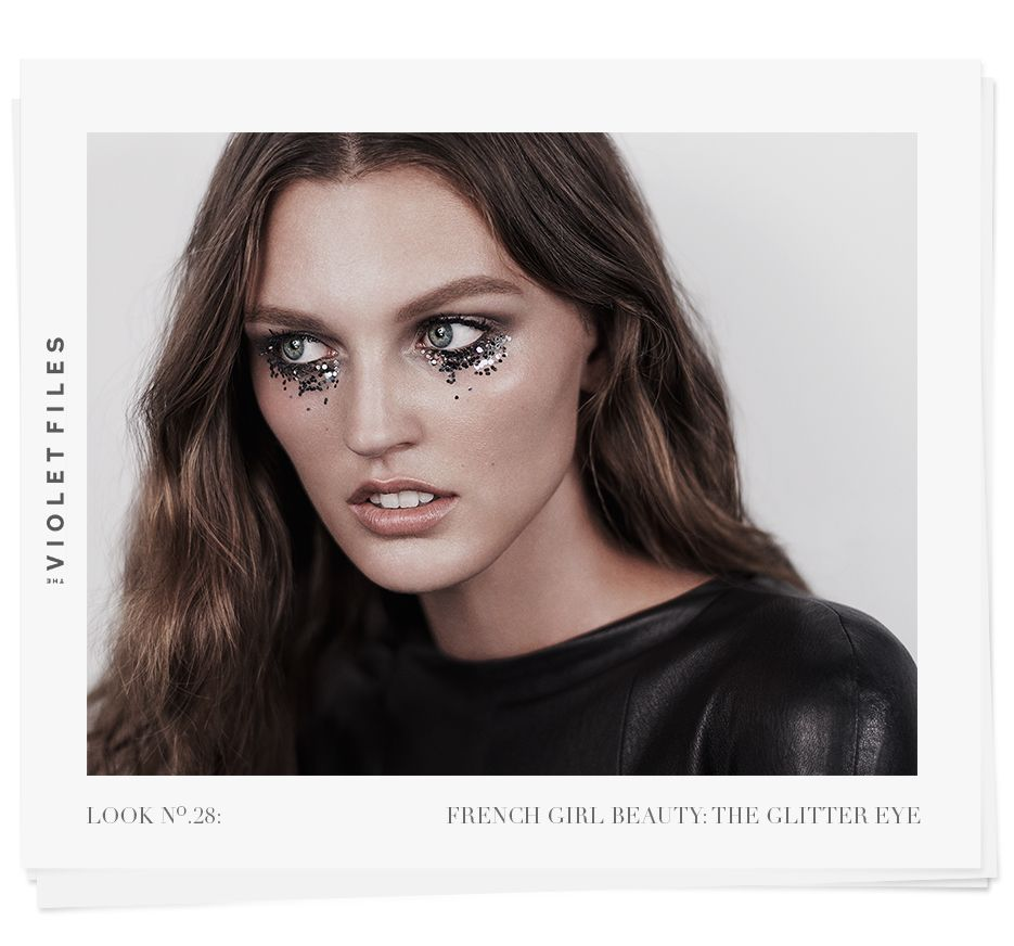 The glitter eye makeup step by step makeup tutorials from celebrity makeup artists read the violet files at violet grey now baditri Choice Image