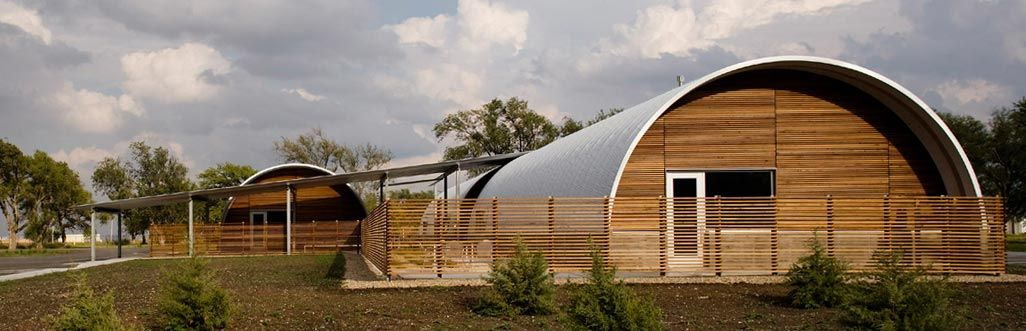 Sustainable Quonset Hut Style Homes Metal buildings